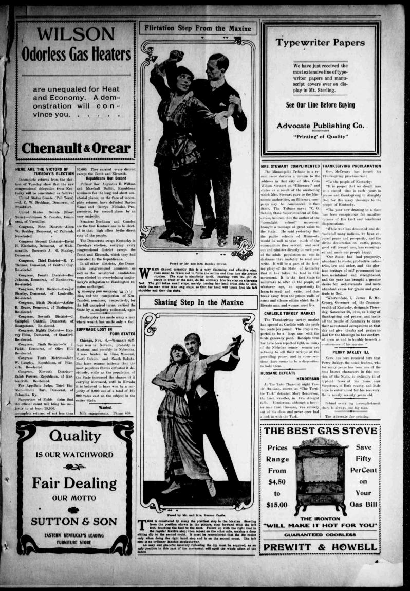 The Mt. Sterling advocate., November 11, 1914, Image 7