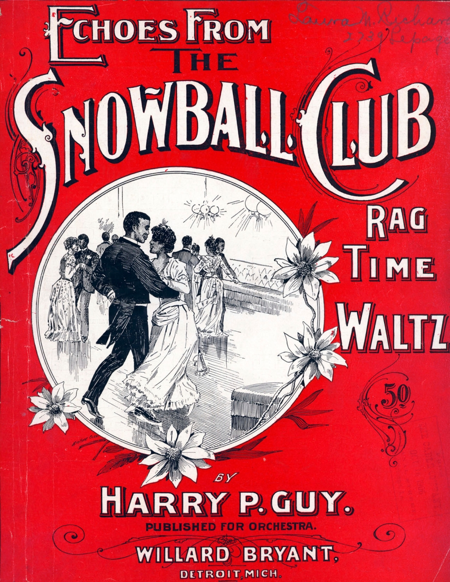 Echoes from the Snowball Club - a Ragtime Waltz