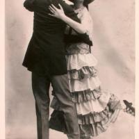 The Castles Demonstrate the Polka for the Washington Times February 1, 1915