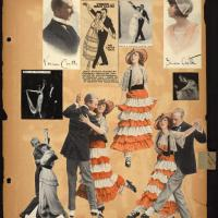 Castle Gavotte and Foxtrot Scrapbook Clippings