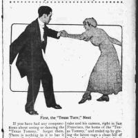 "The Day Book Discusses the Texas Tommy February 7, 1912: ""It's the Busiest Little Dance Ever Set to Music"""