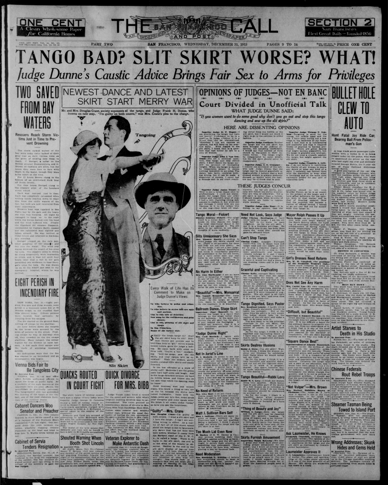 The San Francisco call and post., December 31, 1913, Image 9