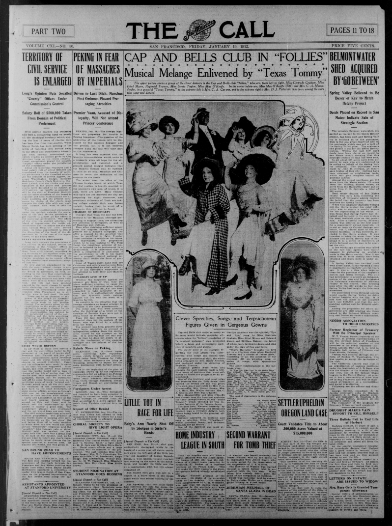 The San Francisco call., January 19, 1912, Image 11