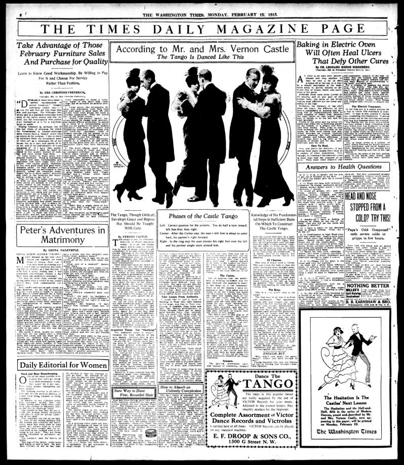 The Washington times., February 15, 1915, HOME EDITION, Page 8, Image 8