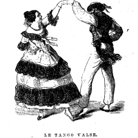 "Charles Durang describes the Tango, ""originally a South American dance,""  in 1856"
