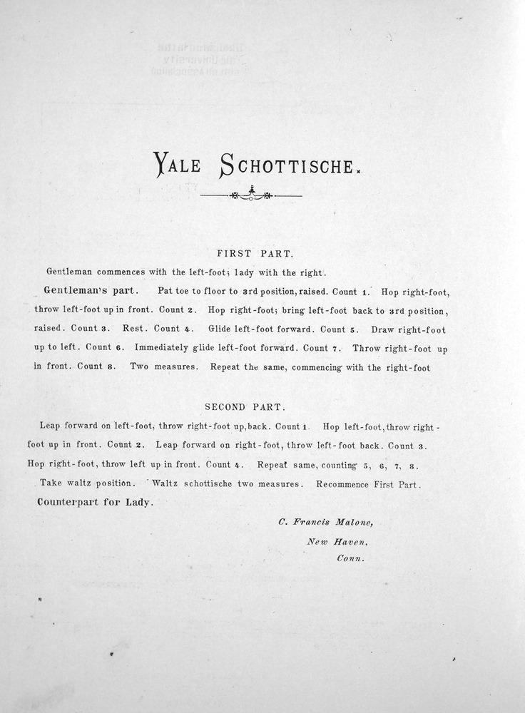Yale Schottische 2
