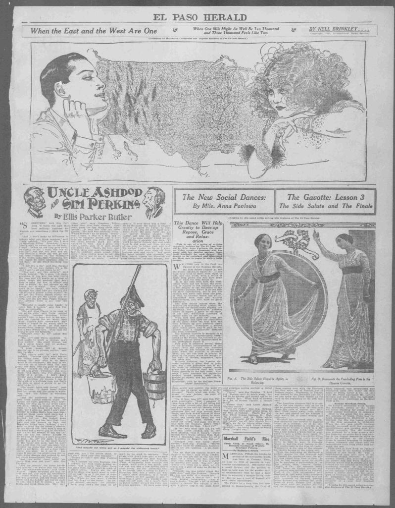 El Paso herald., December 20, 1913, Week-End Edition, COMIC SECTION, Image 19.jpg