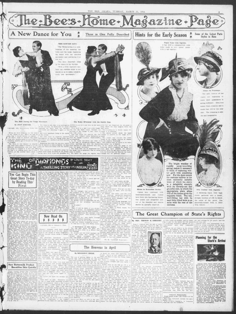 Omaha daily bee., March 31, 1914, Page 9, Image 9