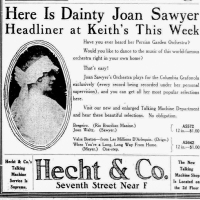 "Joan Sawyer describes the ""Sawyer Maxixe"" to the Omaha Sunday Bee, 1914"