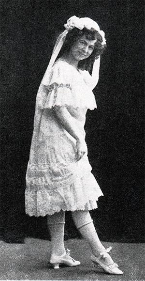 Anna Tropp, circa 1908