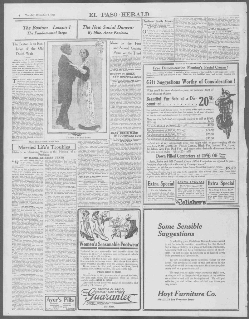 El Paso herald., December 09, 1913, Page 6, Image 6